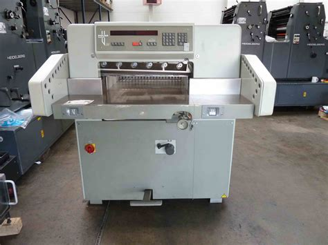 Paper Machines For Sale - guillotines used finishing machines used polar 58 paper