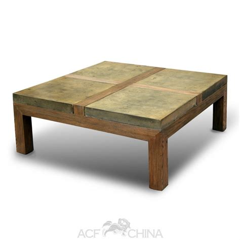 Stone brick coffee table   ACF China