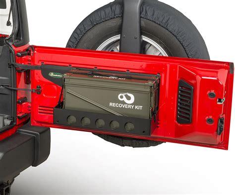jeep wrangler storage quadratec 12226 3000 07 qp1 tailgate cargo shelf with 40mm