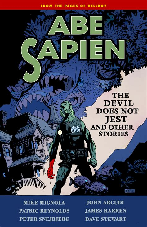 abe sapien and terrible volume 1 books jan120075 abe sapien tp vol 02 does not jest