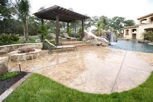 backyard pool and patio outdoor living diy how to build a pergola artistic