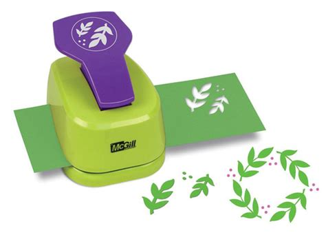 Paper Craft Punch - mcgill pine leaf punch in crafts