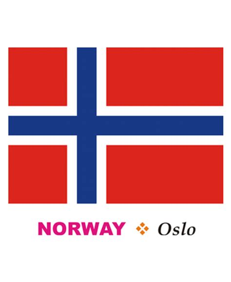 norway flag coloring pages for kids to color and print