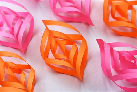Paper Decorations To Make - diy paper ornaments how about orange
