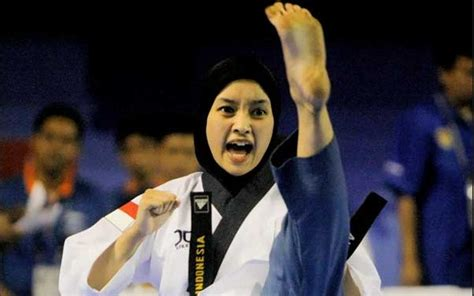 demikianlah sekelumit biodata atlet cantik taekwondo