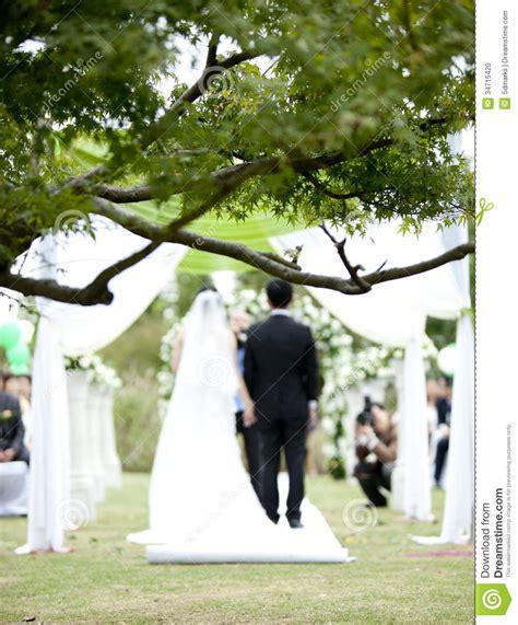 Wedding Ceremony Park by Wedding Ceremony In Park Stock Photo Image 34715420