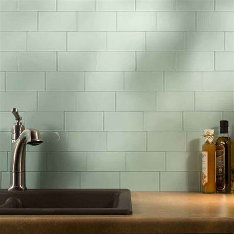 kitchen backsplash peel and stick tiles minimalist kitchen area with blue mint subway peel stick