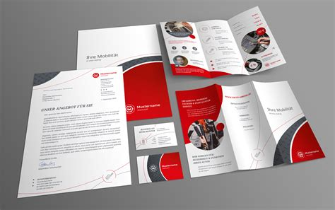 Design Vorlagen Briefpapier corporate design vorlage f 252 r werkstatt u a mit powerpoint layout