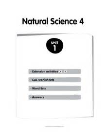 natural science 4 primary 8416380171 natural science 4 fichas byme