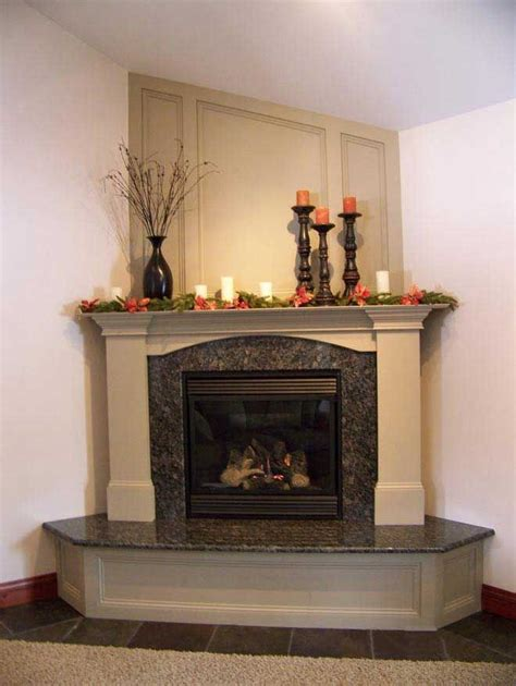 Corner Fireplace Mantels And Surrounds by Best 25 Corner Fireplace Decorating Ideas On