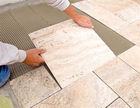 Laying glass wall tiles floor tiles