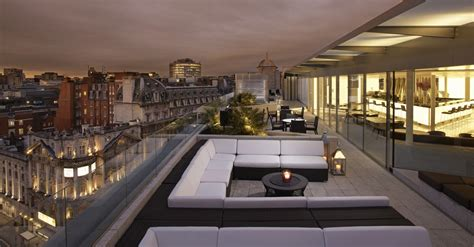 roof top bar london me london by melia