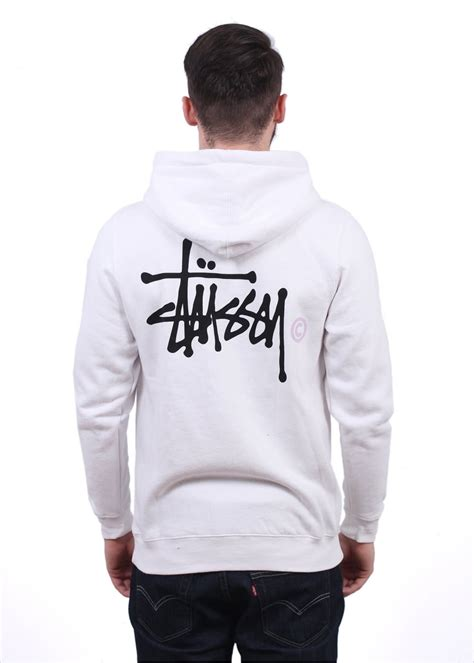 Grosir Basic Jacket Hoodie Unisex With Zipper In 16 Colour stussy basic logo zip hoody white stussy from triads uk