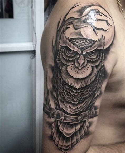 owl tattoos for men 70 owl tattoos for creature of the designs