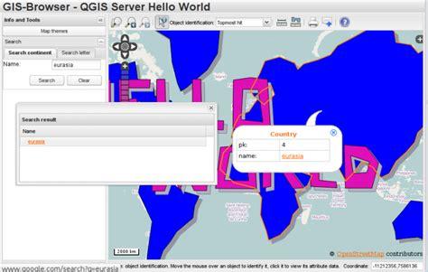 qgis webclient tutorial qgis web client getfeatureinfo formatters open web