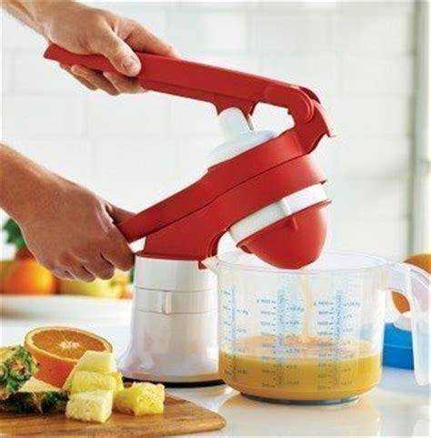 Juicer Tupperware press master juicer fresh tupperware