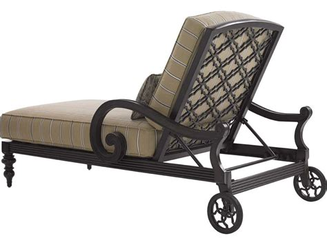 black outdoor chaise lounge cushions bahama outdoor black sands cast aluminum cushion