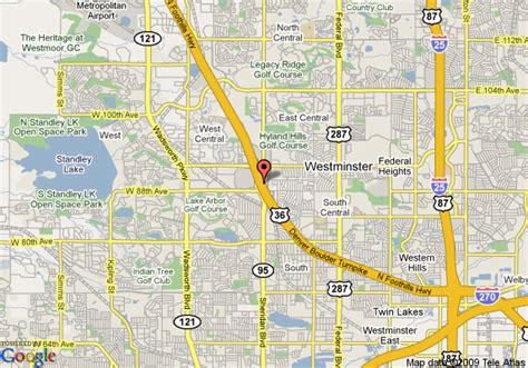 Comfort Suites Colorado Map Of Residence Inn Westminster Westminster