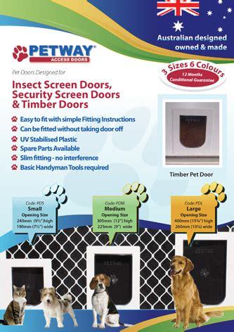 Adelaide Pet Doors Glenelg Sa - pet doors adelaide w s security doors screens