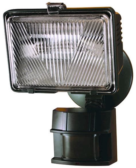 heath zenith 250 watt halogen motion activated security