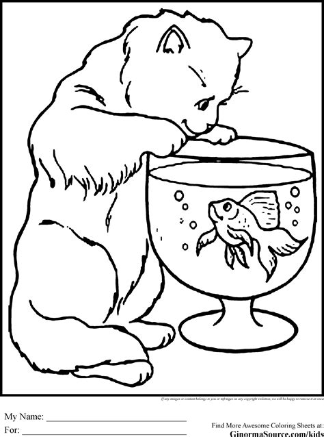 animal coloring pages kitten coloring pages animals cat coloring pages pinterest