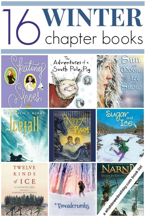 well known picture books winter chapter books for