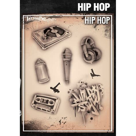 airbrush tattoo pro hip hop