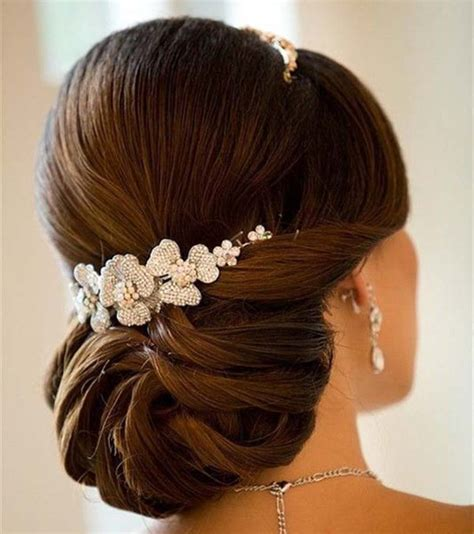 Wedding Hair Sleek Updos by 15 Wedding Hairstyles For Hair That The Show