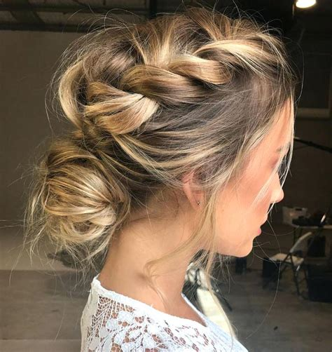 Bridesmaid Hairstyles Updo by Unique Bridesmaid Hairstyles For Medium Length Hair