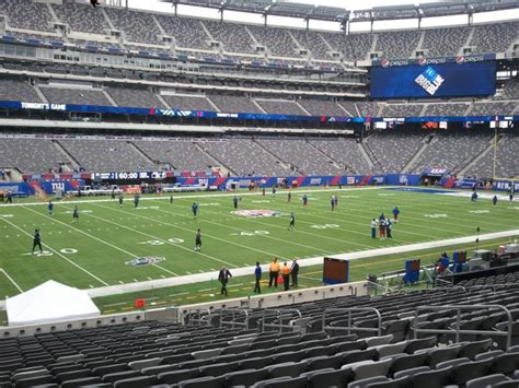 metlife stadium section 116 giants jets metlife stadium section 116 rateyourseats com