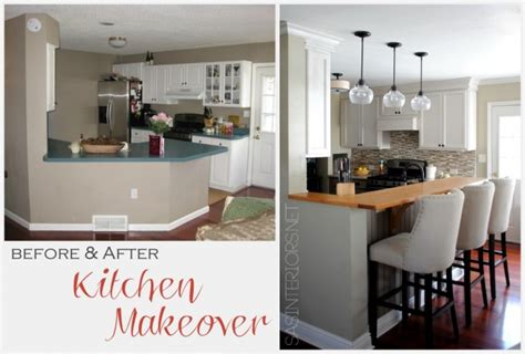 our exciting kitchen makeover before and after green before and after kitchen makeover jenna burger