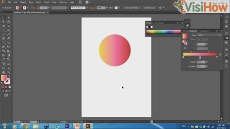 adobe illustrator cs6 quiz create gradient in adobe illustrator cs6 visihow