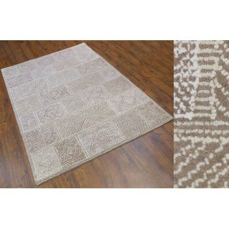 area rug 7x9 wool area rug 7x9 ft tufted beige ivory white by