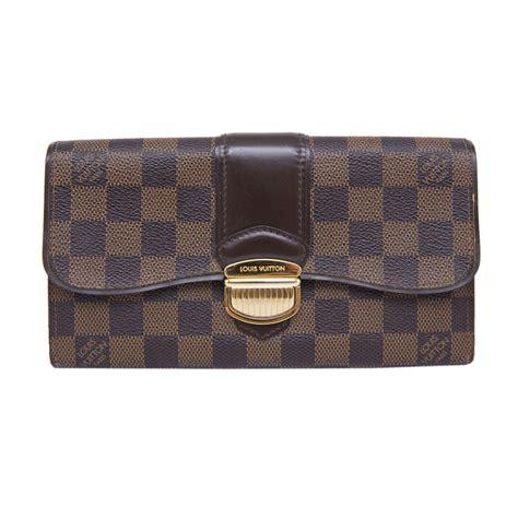 Jual Dompet Lv Louis Vuitton Damier Ebene Bi Fold Pin Bb 525d2a10 louis vuitton damier ebene sistina wallet