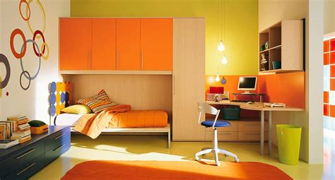 orange bedroom interior exterior plan orange themed interior for