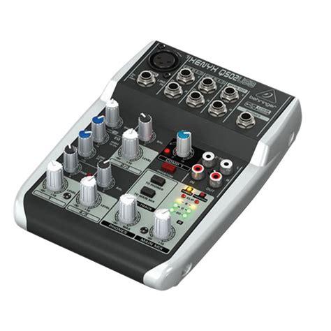 Behringer Xenyx Q502usb behringer q502usb xenyx small format mixer rapid