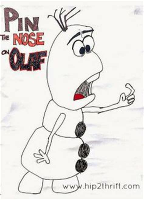 printable pin nose on olaf pin by biannca brasil on frozen bday party pinterest