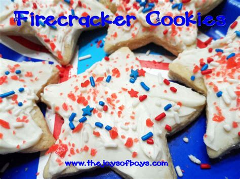 4th of july recipes patriotic cookies the joys of boys