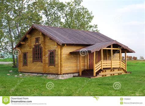stylish wooden cottage stock image image of beautiful