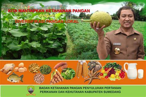 contoh banner baliho poster ketahanan pangan