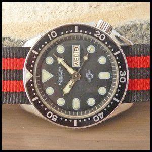 Titus Automatic Cal 2472 1980 s solvil et titus vintage diver s d d automatic