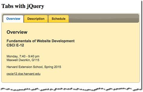 javascript tab layout slide 50 tabs with jquery 167 javascript part 1