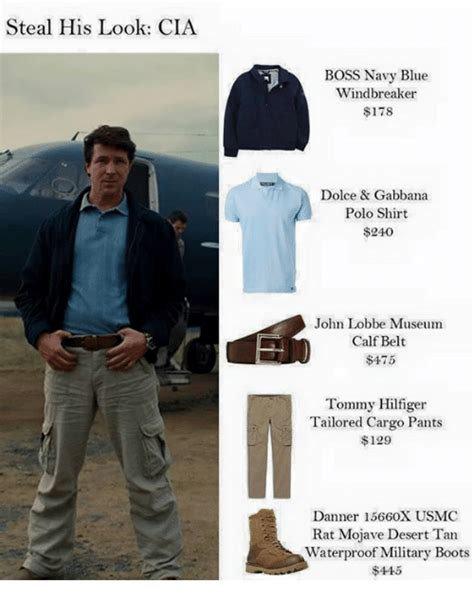 Cargo Pants Meme - steal his look cia boss navy blue windbreaker 178 dolce