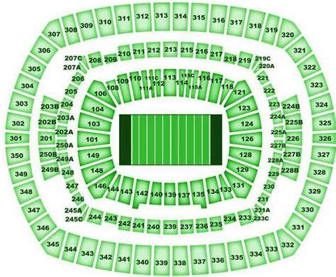 metlife stadium seating chart jets new york jets seating chart jetsseatingchart