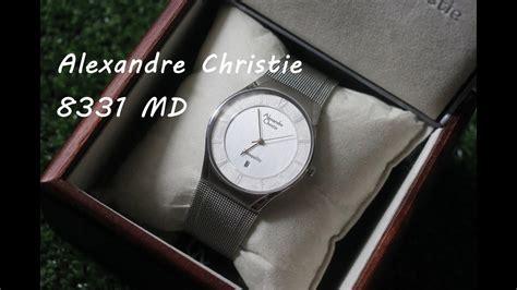 Review Jam Tangan Alexandre Christie review jam tangan alexandre christie 8331 md silver by www gilajam