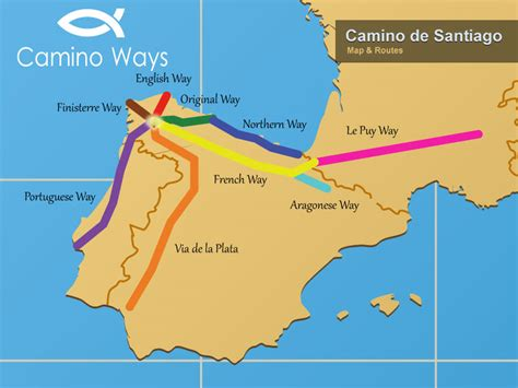 camino way map click on march 2013