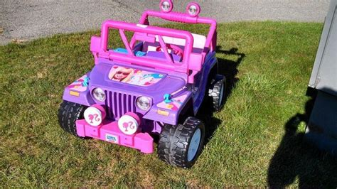 purple barbie jeep pin by shonnie on all things purple