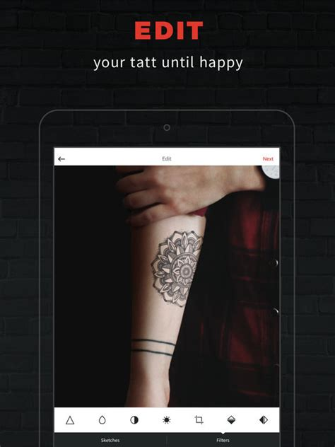 tattoo try on app inkhunter try tattoo designs in augmented reality on the