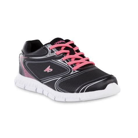 kmart athletic shoes athletech s dax black pink athletic shoe