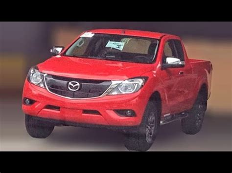 mazda truck 2016 2016 mazda bt 50 pickup truck spotted clearly youtube